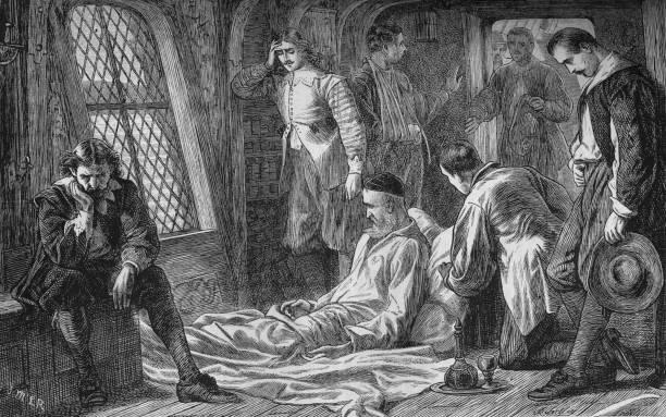 'Death of Admiral Blake', 7 August 1657, (c1880):ニュース(壁紙.com)