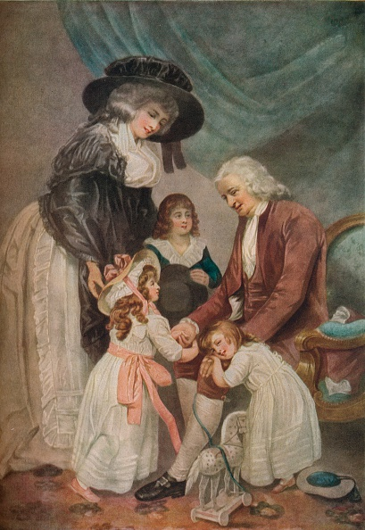 18th Century「A Visit to the Grandfather, 1788, (1916). Artist: John Raphael Smith」:写真・画像(15)[壁紙.com]