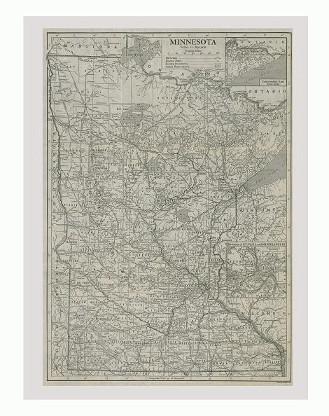 Full Frame「Map Of Minnesota」:写真・画像(18)[壁紙.com]