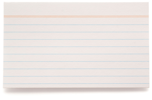 Adhesive Note「White lined index card」:スマホ壁紙(12)