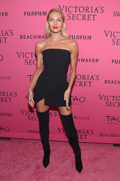 キャンディス・スワンポール「2015 Victoria's Secret Fashion After Party - Pink Carpet Arrivals」:写真・画像(8)[壁紙.com]