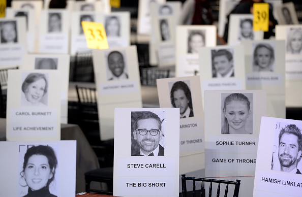 Place Setting「The 22nd Annual Screen Actors Guild Awards - Red Carpet Roll-Out and Behind-The-Scenes」:写真・画像(12)[壁紙.com]