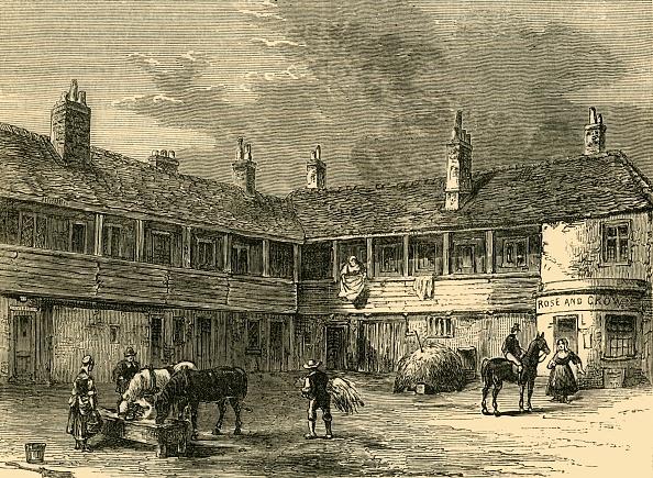 "Knightsbridge「Court-Yard Of The ""Rose And Crown""」:写真・画像(3)[壁紙.com]"