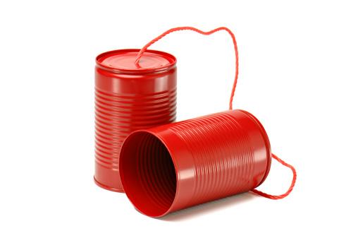 遅い「赤色錫缶電話」:スマホ壁紙(2)