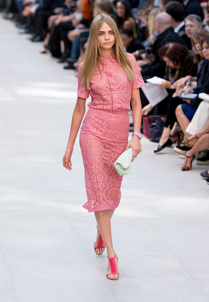 Pink Color「Burberry Prorsum - Runway: London Fashion Week SS14」:写真・画像(19)[壁紙.com]