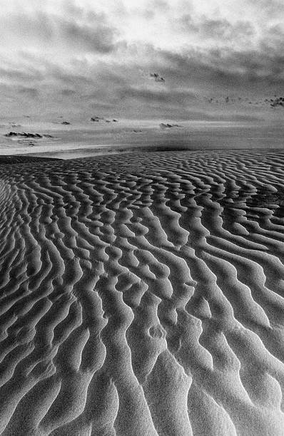 Ripples in the sand:スマホ壁紙(壁紙.com)