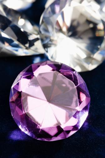 紫「Jewels」:スマホ壁紙(18)