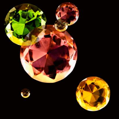 Multi-Layered Effect「Jewels」:スマホ壁紙(15)