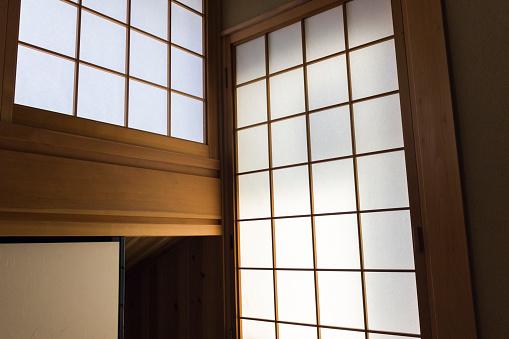 Carpentry「Shoji sliding panels in Japanese ryokan」:スマホ壁紙(1)
