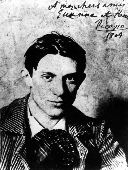Pablo Picasso「Spanish painter Pablo Picasso (1881-1973) in 1904, he is 23 years old」:写真・画像(12)[壁紙.com]