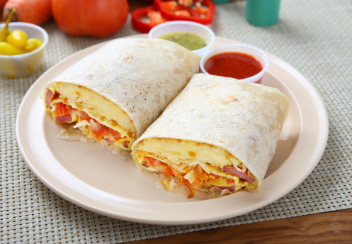 Tortilla - Flatbread「Burrito breakfast」:スマホ壁紙(2)