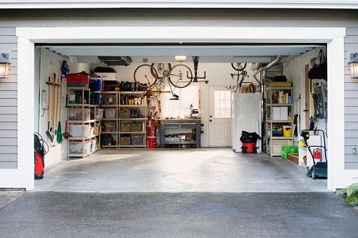 Residential Building「Garage」:スマホ壁紙(5)