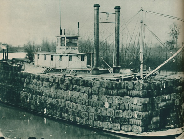 Bundle「A Full Load Of Cotton Often Mounts High Over The Decks Of The Mississippi Steamboats」:写真・画像(8)[壁紙.com]