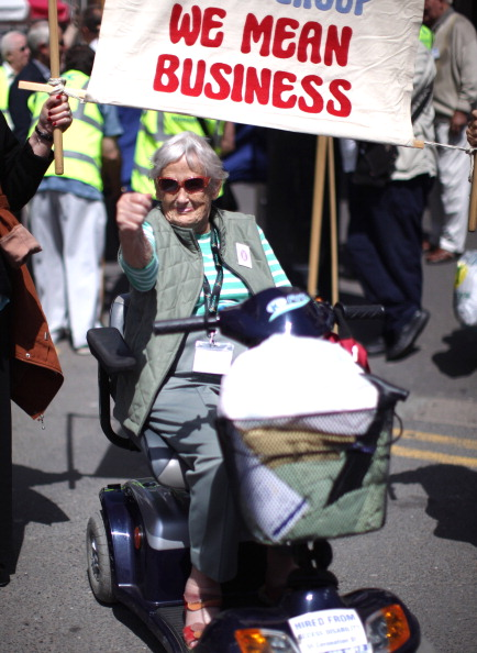 Senior Women「Pensioners Take Part In The National Pensioners Convention」:写真・画像(15)[壁紙.com]