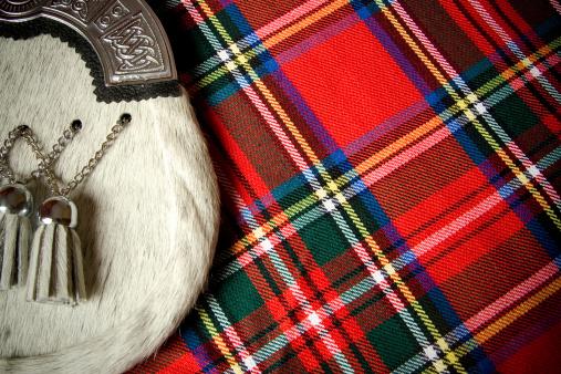 Tartan check「スコットランドの文化」:スマホ壁紙(1)