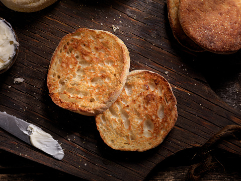 Fast Food「Toasted English Muffin with Butter」:スマホ壁紙(19)