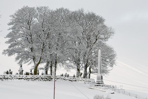 Snow「Snow From Storm Fionn Covers Southern Scotland」:写真・画像(9)[壁紙.com]