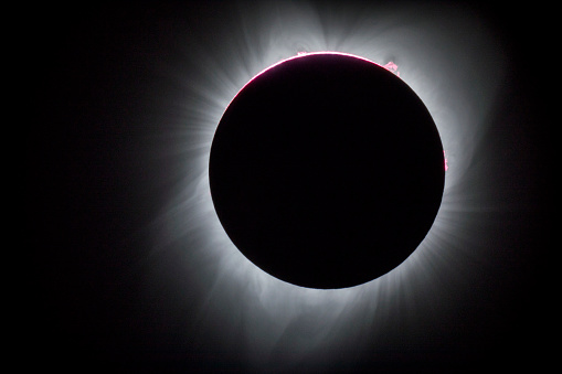 Moon「Total Solar Eclipse, Oregon, USA」:スマホ壁紙(13)