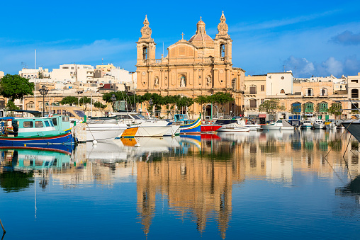 Maltese Islands「Valetta, St Joseph's Church」:スマホ壁紙(2)