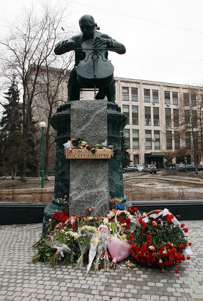 Classical Musician「Rostropovich Statue」:写真・画像(10)[壁紙.com]