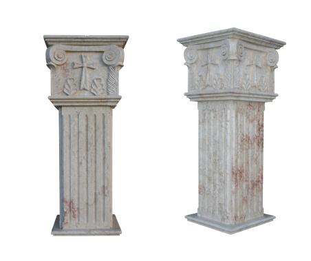 Roman「Columns」:スマホ壁紙(18)