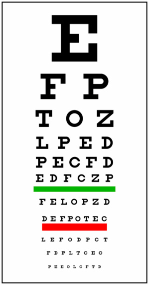 Optometrist「Eye Chart」:スマホ壁紙(4)