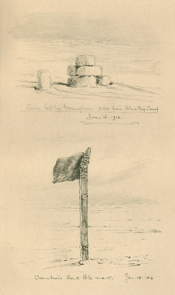 Ski Pole「Cairn Left By The Norwegians」:写真・画像(17)[壁紙.com]