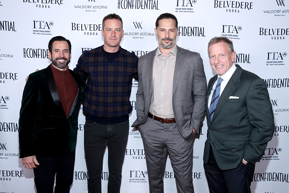 Armie Hammer「Los Angeles Confidential And Armie Hammer Celebrate The Annual Awards Issue With Belvedere Vodka」:写真・画像(1)[壁紙.com]