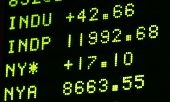 Dow Jones Industrial Average「Dow Jones Closes Short Of 12,000」:写真・画像(0)[壁紙.com]