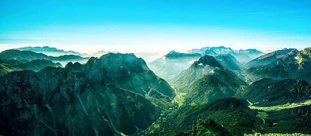 Border between Italy and Slovenia, Mangart, Julian Alps:スマホ壁紙(壁紙.com)