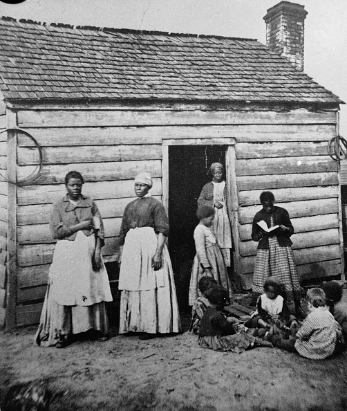 Southern USA「Presumed Slaves And Their Shack」:写真・画像(4)[壁紙.com]