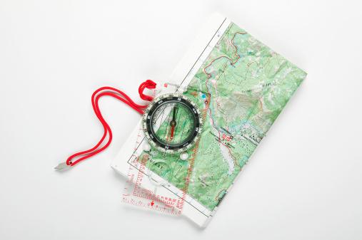 Map「Compass on map」:スマホ壁紙(15)