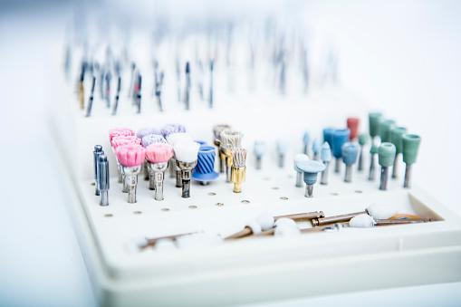 Polishing「Different heads for dental drill」:スマホ壁紙(12)