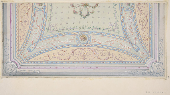 Ceiling「Ceiling Design For A House On The Rue Velezai」:写真・画像(18)[壁紙.com]