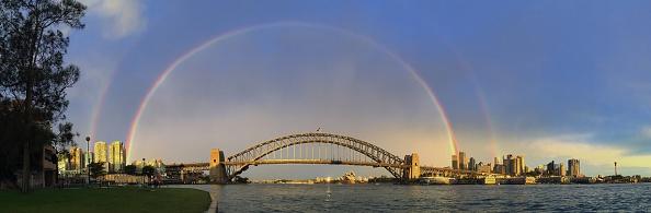 虹「Rainbows Light Up Sydney Harbour」:写真・画像(15)[壁紙.com]