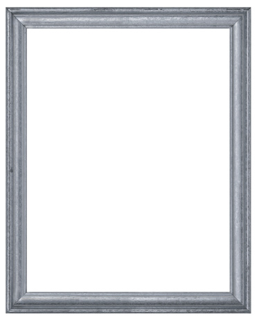Rectangle「Silver or Pewter Rectangular Picture Frame.  Isolated w/Clipping Path」:スマホ壁紙(9)