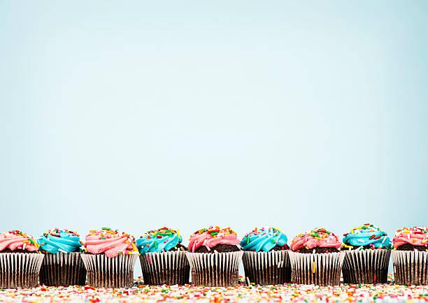 Cupcake Border:スマホ壁紙(壁紙.com)