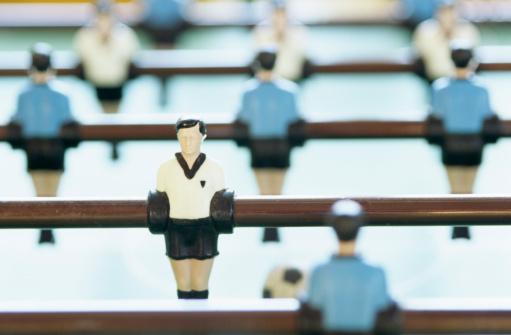 Male Likeness「Toy figurine and football pitch」:スマホ壁紙(12)