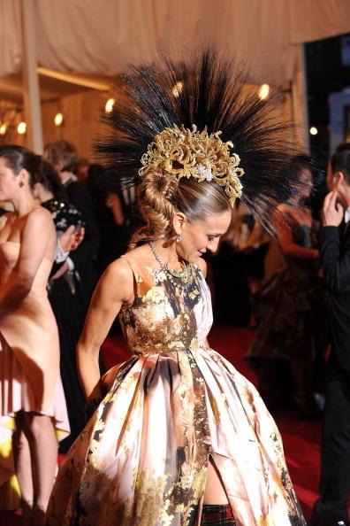 "Sarah Jessica Parker「""PUNK: Chaos To Couture"" Costume Institute Gala」:写真・画像(17)[壁紙.com]"