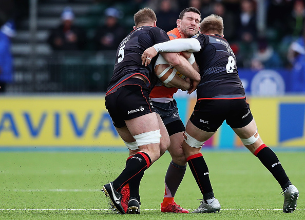 Mark Wilson「Saracens v Newcastle Falcons - Aviva Premiership」:写真・画像(7)[壁紙.com]