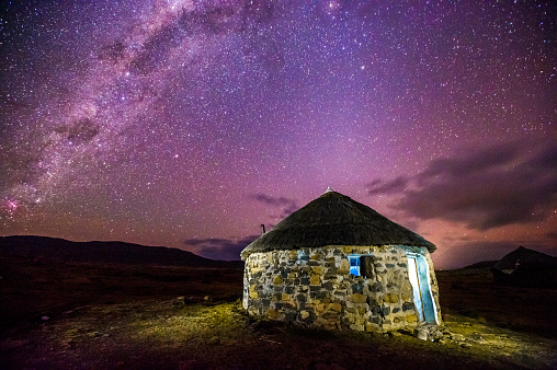 Lesotho「Under the milky way」:スマホ壁紙(1)