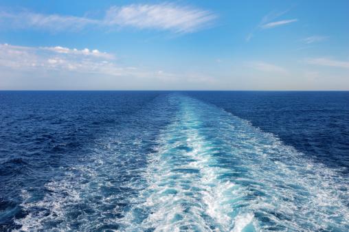 Cruise - Vacation「Ship's Wake」:スマホ壁紙(1)