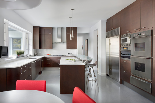 Order「Modern Kitchen with appliances, Chicago IL」:スマホ壁紙(7)