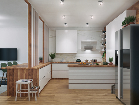 Cooking「Modern Kitchen」:スマホ壁紙(13)