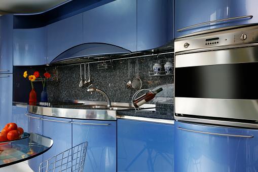 Steel「Modern kitchen interior」:スマホ壁紙(16)