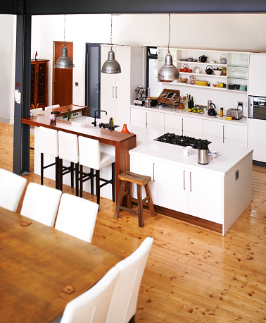 Arts Culture and Entertainment「Modern kitchen for modern living」:スマホ壁紙(2)