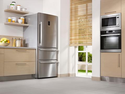 Low Angle View「Modern kitchen」:スマホ壁紙(6)