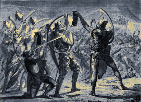 Electric Lamp「Gideon surprising the army of the Midianites」:写真・画像(17)[壁紙.com]
