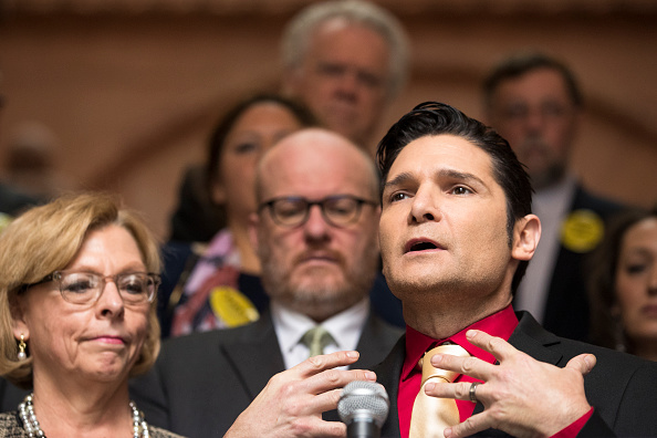 Brett Carlsen「Corey Feldman And NYAHP Support Child Victims Act At New York State Capitol」:写真・画像(1)[壁紙.com]