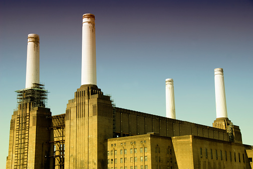 Auto Post Production Filter「United Kingdom, England, London, Battersea Power Station」:スマホ壁紙(15)